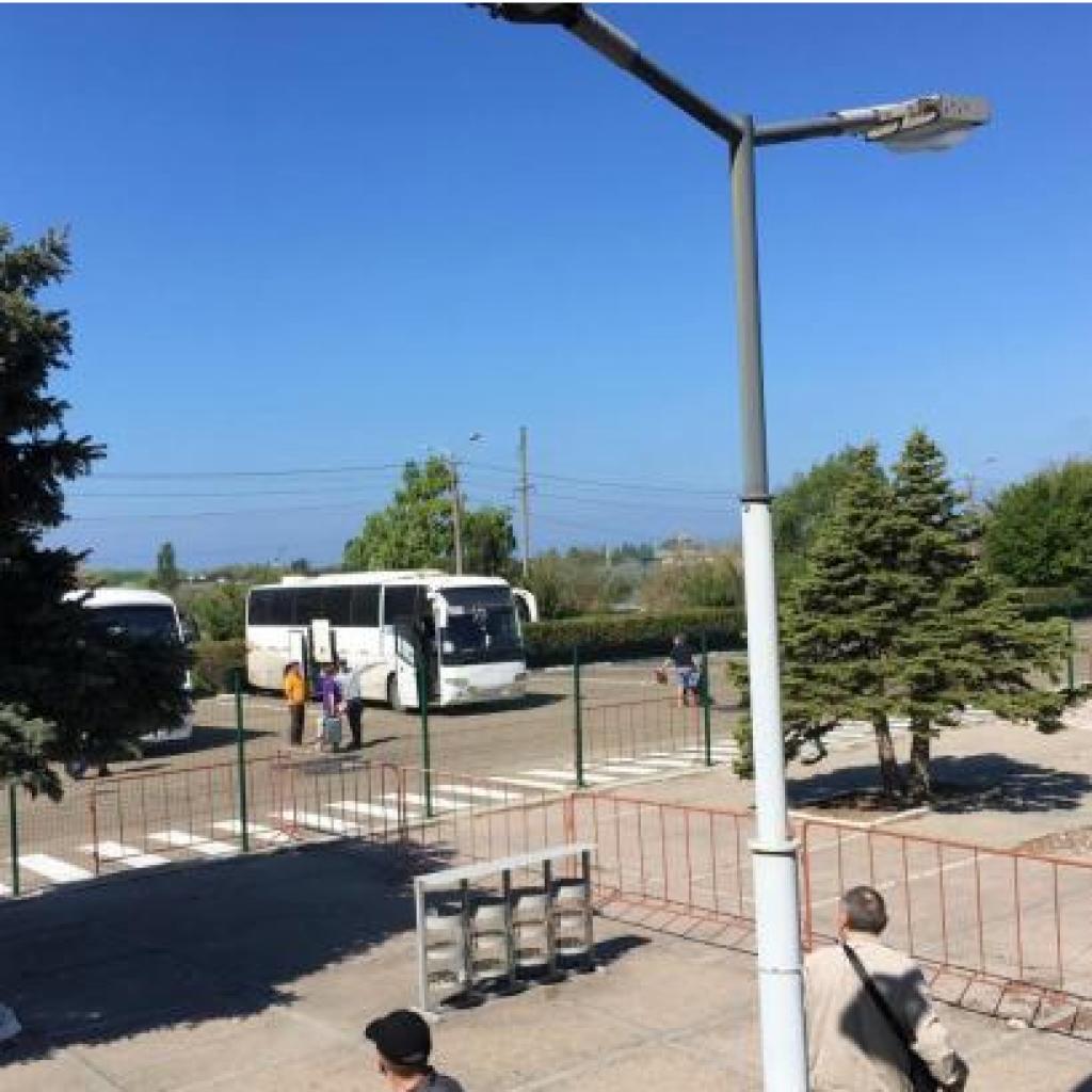 Работа Парома Через Керченский Пролив в Ноябре