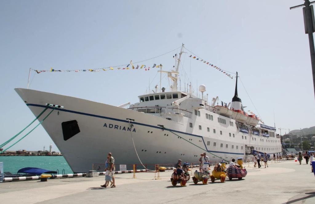 Расстояние от Парома в Крым до Ялты